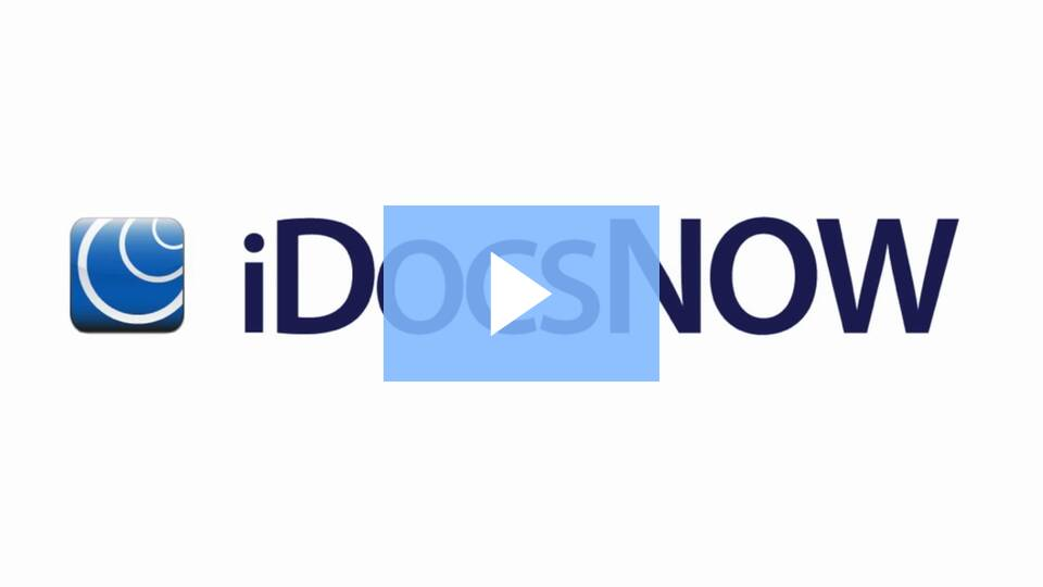 Click to watch the iDocsNow video
